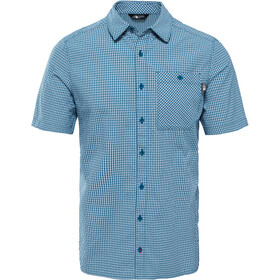The North Face Hypress Camiseta manga corta Hombre, blue coral plaid